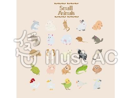 小動物のイラスト