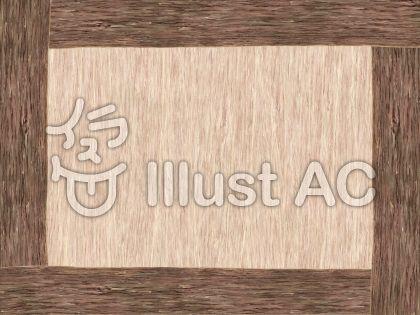 木製ボードのイラスト