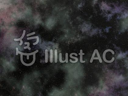 宇宙空間背景のイラスト